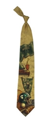 Michigan Wolverines State Spartans Nostalgia Tie