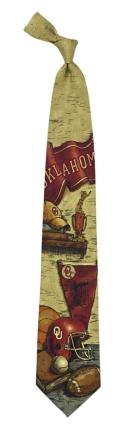 Oklahoma Sooners Nostalgia Tie