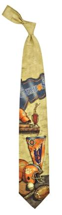 Clemson Tigers Nostalgia Tie
