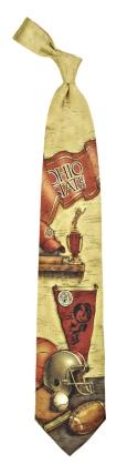 Ohio State Buckeyes Nostalgia Tie