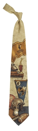 Georgia Tech Yellow Jackets Nostalgia Tie