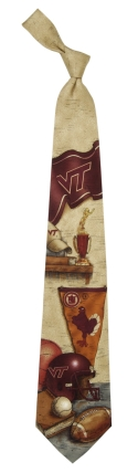 Virginia Tech Hokies Nostalgia Tie