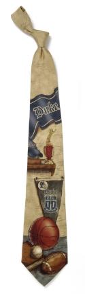 Duke Blue Devils Nostalgia Tie