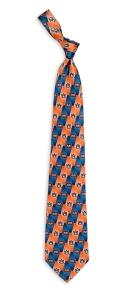 Auburn Tigers Pattern Tie