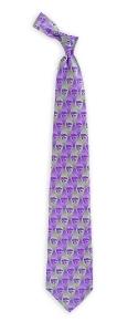 Kansas State Wildcats Pattern Tie