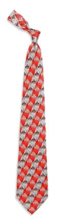 Ohio State Buckeyes Pattern Tie