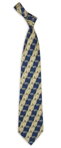 Pittsburgh Panthers Pattern Tie