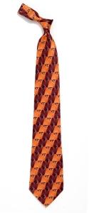 Virginia Tech Hokies Pattern Tie
