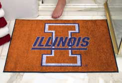 Illinois Fighting Illini AllStar Mat