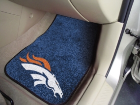 Denver Broncos Car Mats