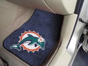 Miami Dolphins Car Mats