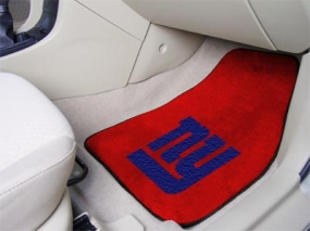 New York Giants Car Mats