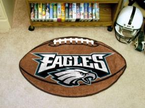 Philadelphia Eagles Football Shaped Rug