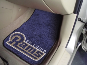 Saint Louis Rams Car Mats
