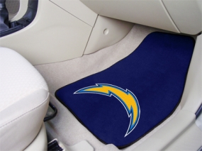 San Diego Chargers Car Mats