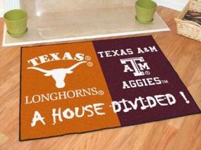 Texas A&M Aggies House Divided Rug Mat