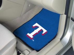Texas Rangers Car Mats