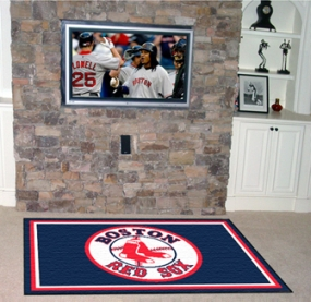 Boston Red Sox Area Rug