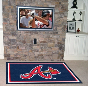 Atlanta Braves Area Rug