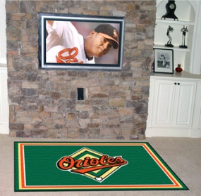 Baltimore Orioles Area Rug