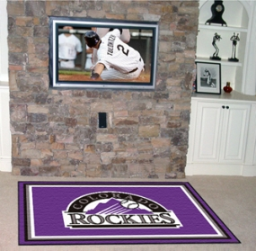 Colorado Rockies Area Rug