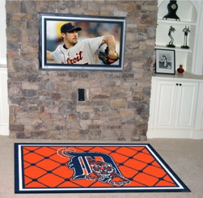 Detroit Tigers Area Rug