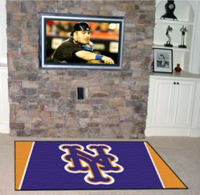 New York Mets Area Rug