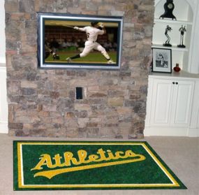 Oakland A's Area Rug