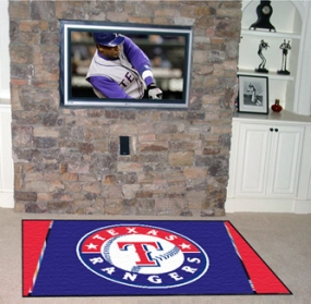 Texas Rangers Area Rug