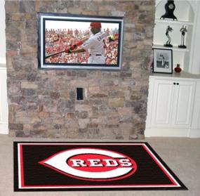 Cincinnati Reds Area Rug