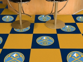 Denver Nuggets Carpet Tiles