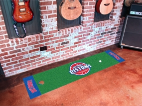 Detroit Pistons Putting Green