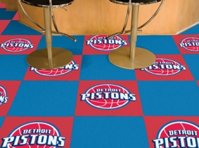 Detroit Pistons Carpet Tiles