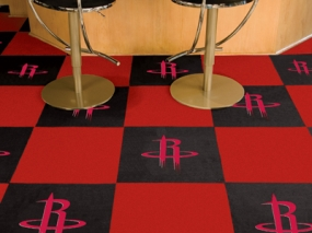 Houston Rockets Carpet Tiles