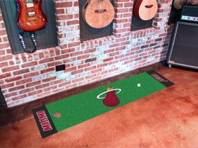 Miami Heat Putting Green