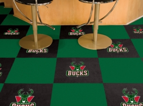 Milwaukee Bucks Carpet Tiles