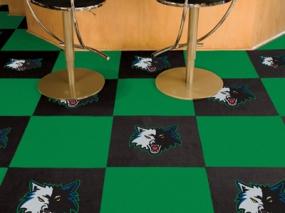 Minnesota Timberwolves Carpet Tiles