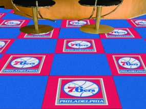 Philadelphia 76ers Carpet Tiles