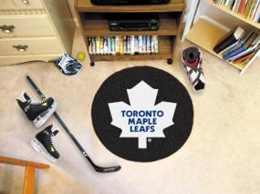 Toronto Maple Leafs Hockey Puck Mat