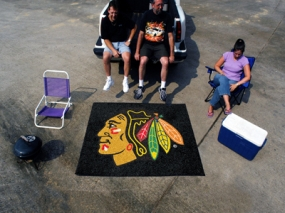 Chicago Blackhawks Tailgating Mat