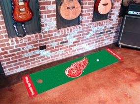 Detroit Red Wings Putting Green
