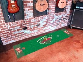 Minnesota Wild Putting Green