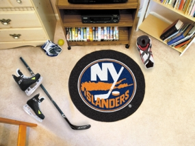 New York Islanders Hockey Puck Mat