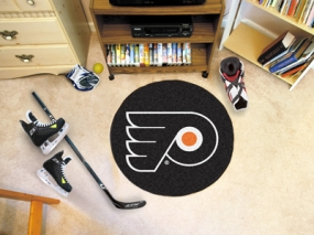 Philadelphia Flyers Hockey Puck Mat