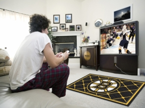 Boston Bruins Area Rug
