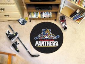 Florida Panthers Hockey Puck Mat