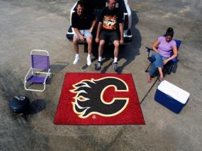 Calgary Flames Tailgating Mat
