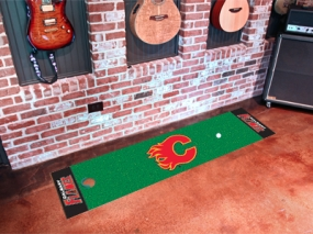 Calgary Flames Putting Green