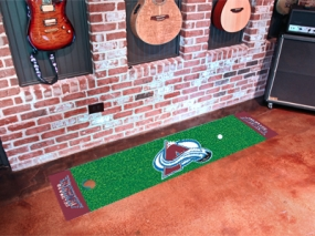 Colorado Avalanche Putting Green