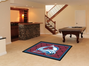 Colorado Avalanche Area Rug